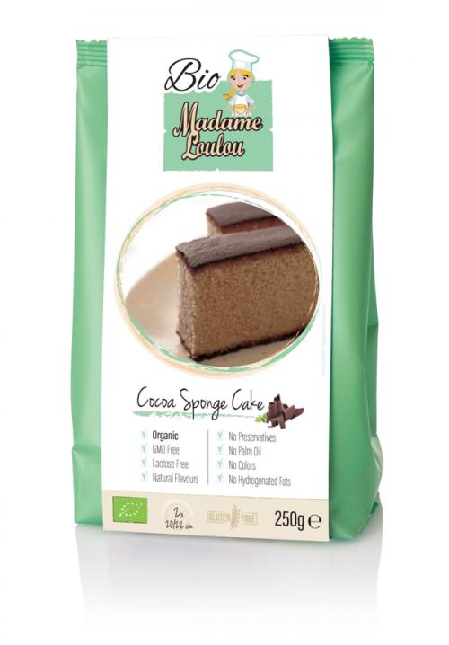 Gluténmentes álom - bio csokis piskóta