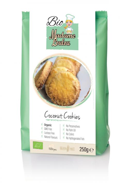 Gluténmentes álom - bio kókuszos keksz