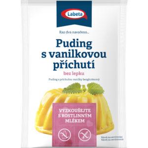 Vaníliás pudingpor gluténmentes