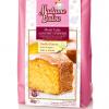 Vaníliás sütemény gluténmentes porkeverék